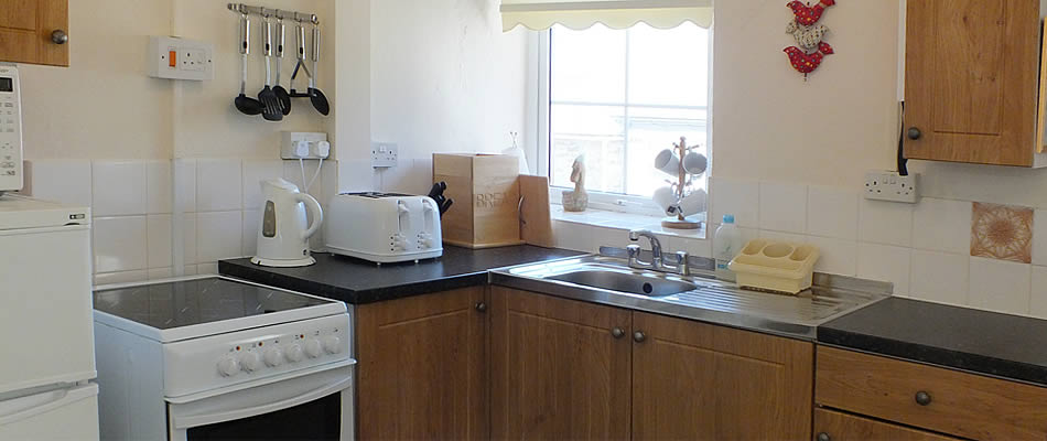 The cottages are equipped with modern kitchens
