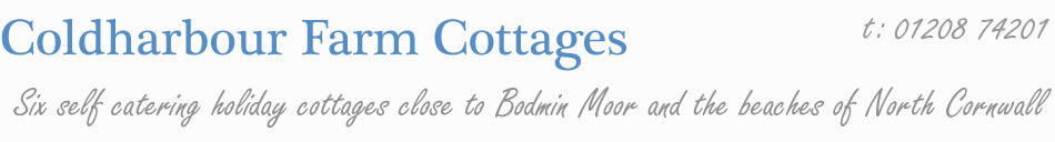 Six self catering holiday cottages on Bodmin Moor, Cornwall